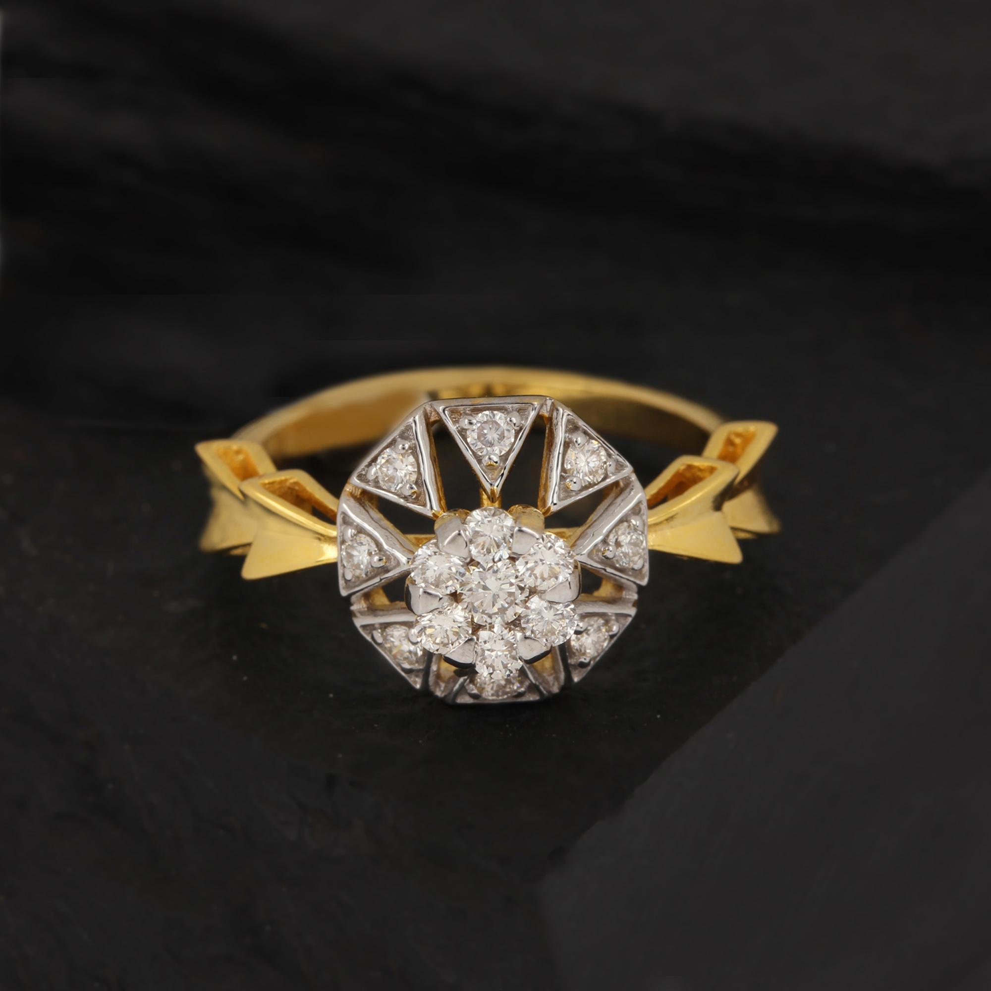 Beautiful Yellow Gold Ring